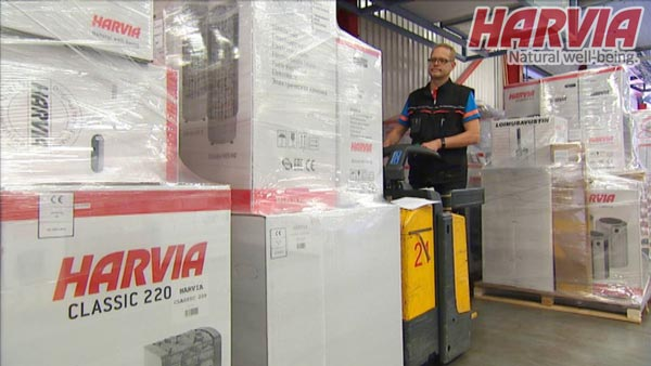 Nhà máy sản xuất máy xông hơi HARVIA Phần Lan
